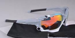 2019 occhiali da sole a balestra Nuovo arrivato !!! 30 ° Occhiali da sole sportivi di alta qualità Occhiali da ciclismo da bici da ciclista da uomo con lenti a 3 colori