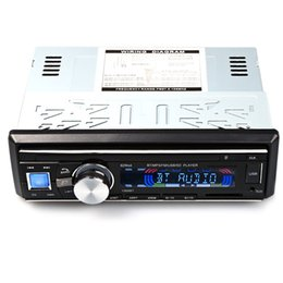 Wholesale Audio Stereo Amplifier 12v - Universal 1068 12V Car Mp3 Player Car Audio Stereo Support FM Bluetooth V2.0 USB SD AUX Mic Hands-free with Remote Control for Cars +B