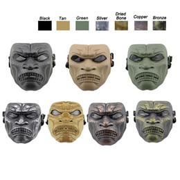 Canada Masque du Corps du Désert Équipement de Sports de Plein Air Protection du Visage Vêtement Airsoft Tir Masque Tactique Visage Airsoft Masque Offre