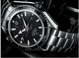 Wholesale Good Mechanical Watches - Wholesale - hot good 2018 NEW AAA James Bond 007 Automatic Movement Men's Watch Men Watches Automatic Wristwatch.