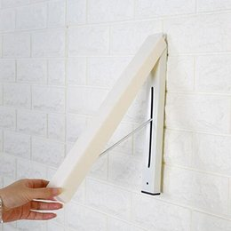 Wholesale Hottest Selling Lingerie - Invisible Wall Hanging Clothes Hanger High Quality Strong Bearing Capacity Concealed Indoor Magic Foldable Cloth Hangers Hot Sell 10wy F R