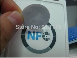 Wholesale Galaxy S3 Nfc - Wholesale- 300pcs Larger Capacity NFC Tags RFID Label, Classic 1k F1108 NFC Sticker For Galaxy S3 Nokia And Most Andriod NFC Phone