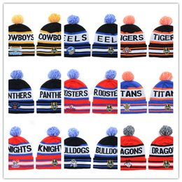 Wholesale Top Hats Sale Cheap - new Beanies Cheap Pom Pom Beanies Skull beanies Brand Winter hats Knitted Beanie Hat Mens Beanie Women Beanie Hats all NRL caps On Sale