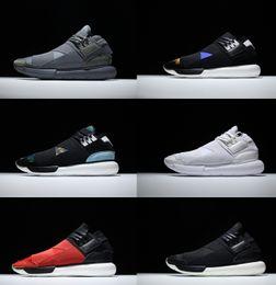 Wholesale Eva Ninja - Y-3 QASA RACER Hight SnEakers Couples Y3 Soft Bandage Running Shoes For Men&Women Personality Ninja Runner Casual Sneakers Jogging Boost