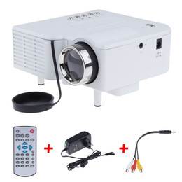 Wholesale Data Show - Wholesale-UC28 Mini LED Digital Video Game Projectors Multimedia player Inputs AV VGA USB SD HDMI proyector Built-in Speaker data show Hot