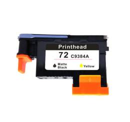Wholesale Hp 72 - 1x matte black yellow HP72 C9384A Printhead for hp 72 Designjet 2300 T610  T620 T770 T790