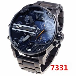 Wholesale New Stainless Fashion - 2017 watches men luxury brand DZ7314 DZ7313 fashion casual mens quartz watch military montre homme male wristwatch wrist watches