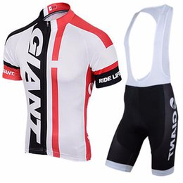 Wholesale Cycling Jersey Set Giant - VACOVE 2016 Brand Pro Team GIANT Cycling Clothing Breathable Cycle Clothes Mountain Bicycle Wear Ropa Ciclismo BikeWerk Cycling Jerseys Sets