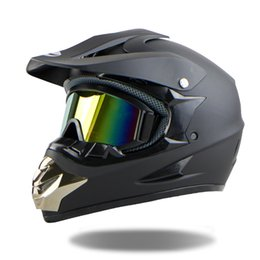 xl motocross helmet Promo Codes - Wholesale- 2016 Casco Capacetes Motocross Helmet ATV Moto Helmet Cross Downhill Off-road Motorcycle Helmet DOT Free Shipping