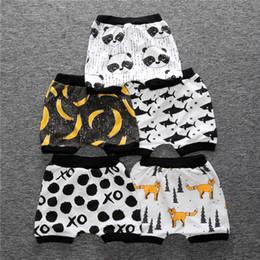 Vestiti poco costosi del bambino di modo online-baby boy pantaloncini estivi bottoms modello animale del fumetto pantaloni corti per bambini ragazzo moda capris boutique bambini vestiti a buon mercato all'ingrosso