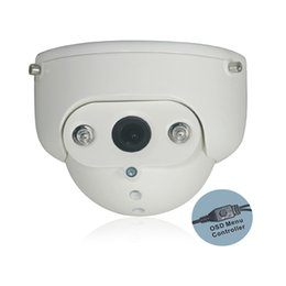 Wholesale Security Cameras Vandal Proof Dome - 1 3 inch Sony CCD Chip 700TV Lines 4-9mm Zoom Lens Array IR Led Night Vision CCTV Security Dome Camera ODS Menu Controller and w RS485 Remot