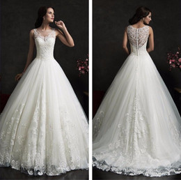 Discount backless wedding dress veils - Free shipping New Fashionable High Quality Lace Princess Wedding dresses 2017 Sexy Luxury Wedding Gowns Free Veil