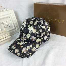 Wholesale Flower Duck - Spring and summer all kinds of small flower pattern hat outdoor sun hat luxury brand duck tongue hat high quality baseball cap