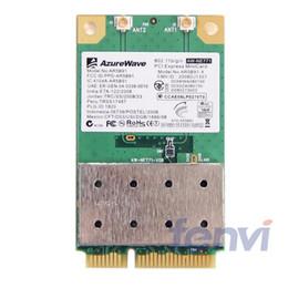 Wholesale Wifi Card Mini Pci - Wholesale- Atheros AR5B91 AR9281 Mini PCI-e Wireless-N wifi Network Adapter 802.11b g n 2.4 GHz Draft 300 Mbps wlan wi-fi card