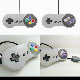 Wholesale nintendo bit - 10 Keys Game Gaming 16 Bit Controller Gamepad Pad Joystick for SFC Super Nintendo SNES System Console Control Pad Wholesale
