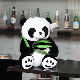Wholesale Bear Marriage - Bao bamboo, panda, doll, national treasure, stuffed toy doll, bear hug, Chengdu travel souvenir