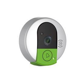 Wholesale Hd Peephole Camera - C95 IP door camera eye HD 720P Wireless Doorbell WiFi Via Android Phone Control video peephole door camera wifi