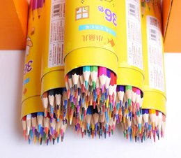 Wholesale 24 36 Painting - Painting color pencil 12 18 24 36 48 colors High quality drawing painting colors pencil artist supplies sketch Color Pencil Free Delivery
