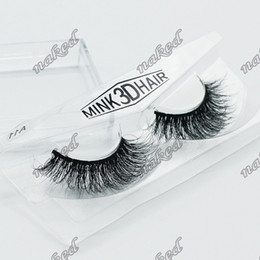Wholesale False 18 - false eyelashes 3D MINK hair,multilayer handcraft thick eyelashes 1 pair in hard plastic case factory 18 design compare quality