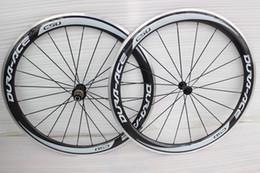Wholesale Brake Decal - grey decal powerway R36 Hub alloy carbon Road Bike wheels c50 aluminum carbon brake Surface 700C Clincher carbon Wheelset 50mm Depth