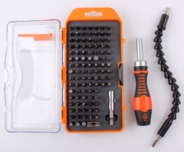 Wholesale Precision Manual - 100-in-1 Precision Screwdriver Set Combination Tool For Maintenance Of Digital Products Home Appliances Multi Manual Tools Set