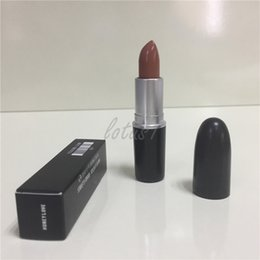 Wholesale Mixed Sexy - HOT Makeup Luster Lipstick Frost Lipstick Matte Lipstick 3g RUBY WOO CHILI VELVET TEDDY RUSSIAN RED KINDA SEXY MEHR HONEYLOVE free shiipping