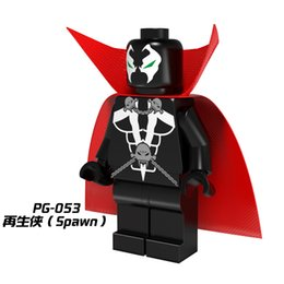 Wholesale Star Wars Super heroes Marvel Avengers The Spawn mini action Figures Building Blocks Bricks Toys For kids Children