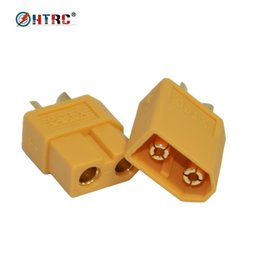 Wholesale Electric Wires - 1 pair XT60 Connector Male and Female Plug for RC Battery and Motor