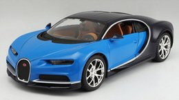 Wholesale Collection Cars - Maisto Bugatti Chiron 1:24 Scale Diecast Car Model Toys Alloy High Quality Collection Hot Sale Toys Gift For Children
