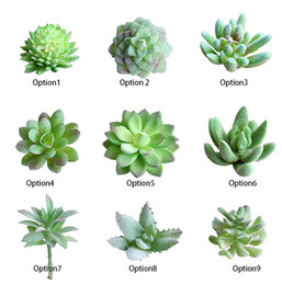 Wholesale Office Mini Plant - Charming Faux Artificial Succulent Plants Emulational Cactus Plants for Office Home Table Desk Garden Displayed Mini Flower Decoration