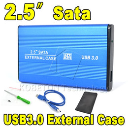 """Wholesale Notebook External Usb Hard Disk - Wholesale- Portable High Speed 2.5"""" USB 3.0 HDD Hard Disk Drive Case Hard Drive SATA External Enclosure Box for PC Computer Laptop Notebook"""