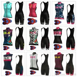 Wholesale Woman Vest Xs Grey - 2017 ALE Cycling Vest Set Summer Style Cycling Jerseys MTB Ropa Ciclismo With 9D Gel Padded Shorts For Women Size XS-3XL Bike Wear