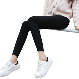 Wholesale Tight Jeans Thin - 2017 new arrival summer wear thin quick dry skinny jeans all-match tight spring new black trousers.