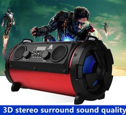 Wholesale Cheap Portable Wireless Speaker - 2017 wholesale and retail high quality cheap outdoor portable Bluetooth speaker 15W subwoofer multi-function card microphone wireless speake