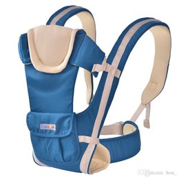 Wholesale Horizontal Baby Carrier - 2017 European pure cotton multi-function baby carrier baby sling portable baby waist stool newborn backpack high grade hipseat breathable