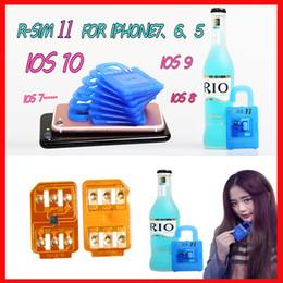 Wholesale Ios7 3g - R SIM 11 RSIM11 r sim11 rsim 11 unlock card for iPhone 5 6 7 6plus iOS7 8 9  ios 10 ios10CDMA GSM WCDMA SB AU SPRINT 3G 4G