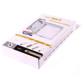 Wholesale Usb Vga Dvi Hdmi Adapter - 2015 Hot USB C to HDMI USB 3.1 C Type to HDMI DVI VGA Adapter for New Macbook Chromebook Free Shipping