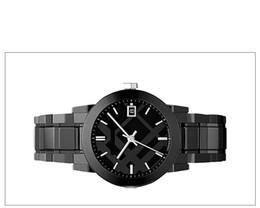 Relógio de quartzo boutique on-line-Moda boutique de aço do vento britânico com um calendário de senhoras do calendário relógios de quartzo b9181