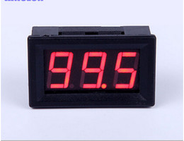"Wholesale Mini Led Voltage - Wholesale-Mini 0.56"" Two Wires Digital Voltmeter Red LED Display DC4.5-30V Voltage Meter"