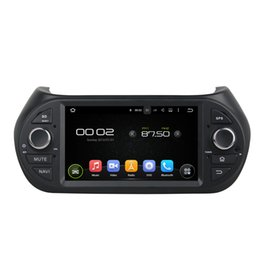 Wholesale Dvd Car Fiat - HD 1024*600 7 inch Quad Core Android 5.1.1 deckless Car GPS navigation Car Radio MP3 Player no car dvd for Fiat Fiorino