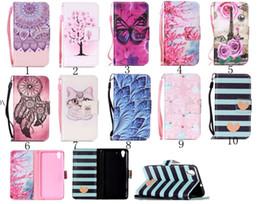 Wholesale Sakura Cards - For Huawei P9 P8 Lite Y3 II Y5 II Y6 II Y6 Pro Y625 Flower Paris Sakura Floral Butterfly Wallet Leather For Google Pixel XL,Paris Flip Cover