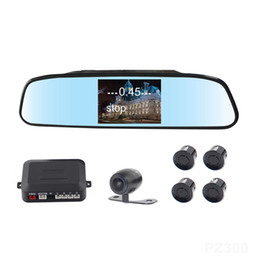 Wholesale rearview systems - Car Rearview Camera Intelligent Parking Assistance System PZ604 4.3 Inch 16:9 Digital Panel Camera Pixal 648*488 Free DHL