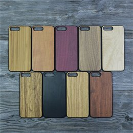 Wholesale Iphone Wooden Cases For Sale - Hot Sale Natural Wooden Cell Phone Cases for iPhone 7 6 ,Wood PC Phone Case For iPhone 7 plus