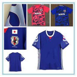 Wholesale Japan 18 - Japan train Soccer Jersey 17 18 Japan red train Soccer Shirt 2017 football Uniform Sales