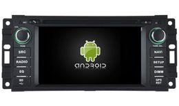 Wholesale Dvr Jeep - Navirider 2GB ram octa core android6.0 audio Car DVD player GPS for Jeep Cherokee Commander Compass Patriot Wranger radio DVR 3G stereo navi