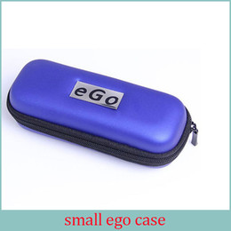Wholesale E Cigarette Carry - EGO Electronic cigarette Zipper box case bag package with Zipper carrying for E cig Joye eGo-T ego--tank E-cigarette