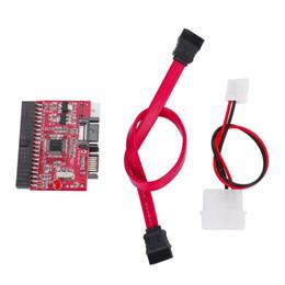 2019 pilote de câble Gros-Durable IDE HDD à SATA Serial ATA Convertisseur Adaptateur Disque dur Pilote Support pour ATA 133 100 HDD CD Adaptateur promotion pilote de câble
