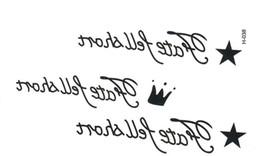 kinder tattoos großhandel Rabatt Großhandels-Taty neues Entwurfs-Flash-Tätowierung-entfernbares wasserdichtes Goldtätowierungs-metallische temporäre Tätowierung-Aufkleber-temporäre Körper-Kunst Tatoo