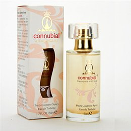 Wholesale Eau Toilette Perfume - Connubial Flavoured with love Body Glamour Spray Eau De Toilette High quality with good price perfumes ong lasting time good smell