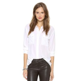 923f4e7c0dd3b White Silk Blouse Collar Suppliers
